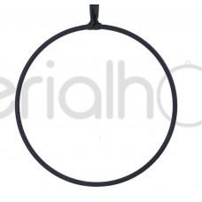 Кольцо без крепления с черным тейпом