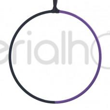 Кольцо без крепления с черно-фиолетовым тейпом