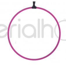 Кольцо без крепления с розовым тейпом