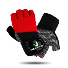 Перчатки для тренажерного зала M-L (w40112) мужские