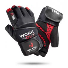 Перчатки для тяжелой атлетики M-L (w-1050) мужские