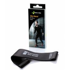 Эспандер для ног Mini Bands Черный (9-14 кг)