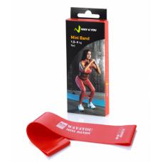 Эспандер для ног Mini Bands Красный (1,5 - 4 кг)