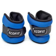 Утяжелитель EcoFit 0,5 кг x 2 шт (Синие)