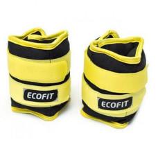 Утяжелитель EcoFit 0,5 кг x 2 шт (Желтые)