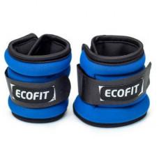Утяжелитель EcoFit 1,5 кг x 2 шт (Синие)
