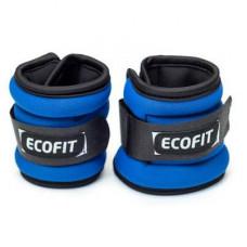 Утяжелитель EcoFit 2,0 кг x 2 шт (Синие)