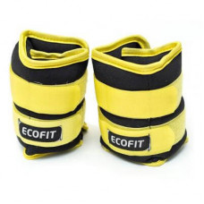 Утяжелитель EcoFit 2,0 кг x 2 шт (Желтые)