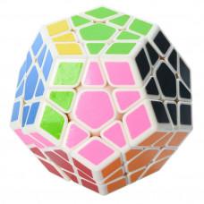 Кубик логика Многогранник 0934C-5 белый