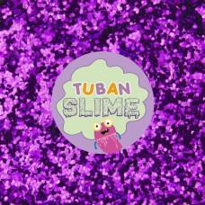 Фиолетовые блестки Tuban