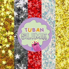 Набор из 5-ти видов блесток Tuban