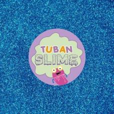 Синие блестки Tuban