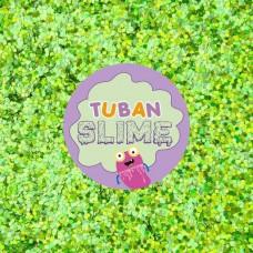 Зеленые блестки Tuban